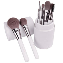 Makeup Brush Set with Cylinder Case - Slackwater Cove