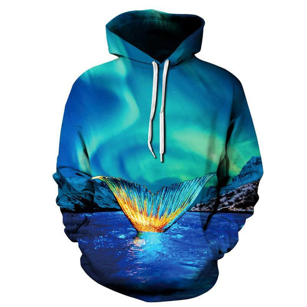 Mermaid Hoodie Sweatshirt - Slackwater Cove