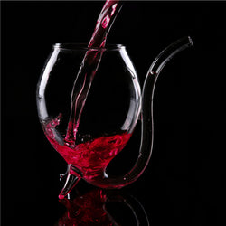 Wine Sipping Glass With Straw - Slackwater Cove