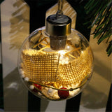 Glowing Christmas Tree Bauble Ornaments - Slackwater Cove