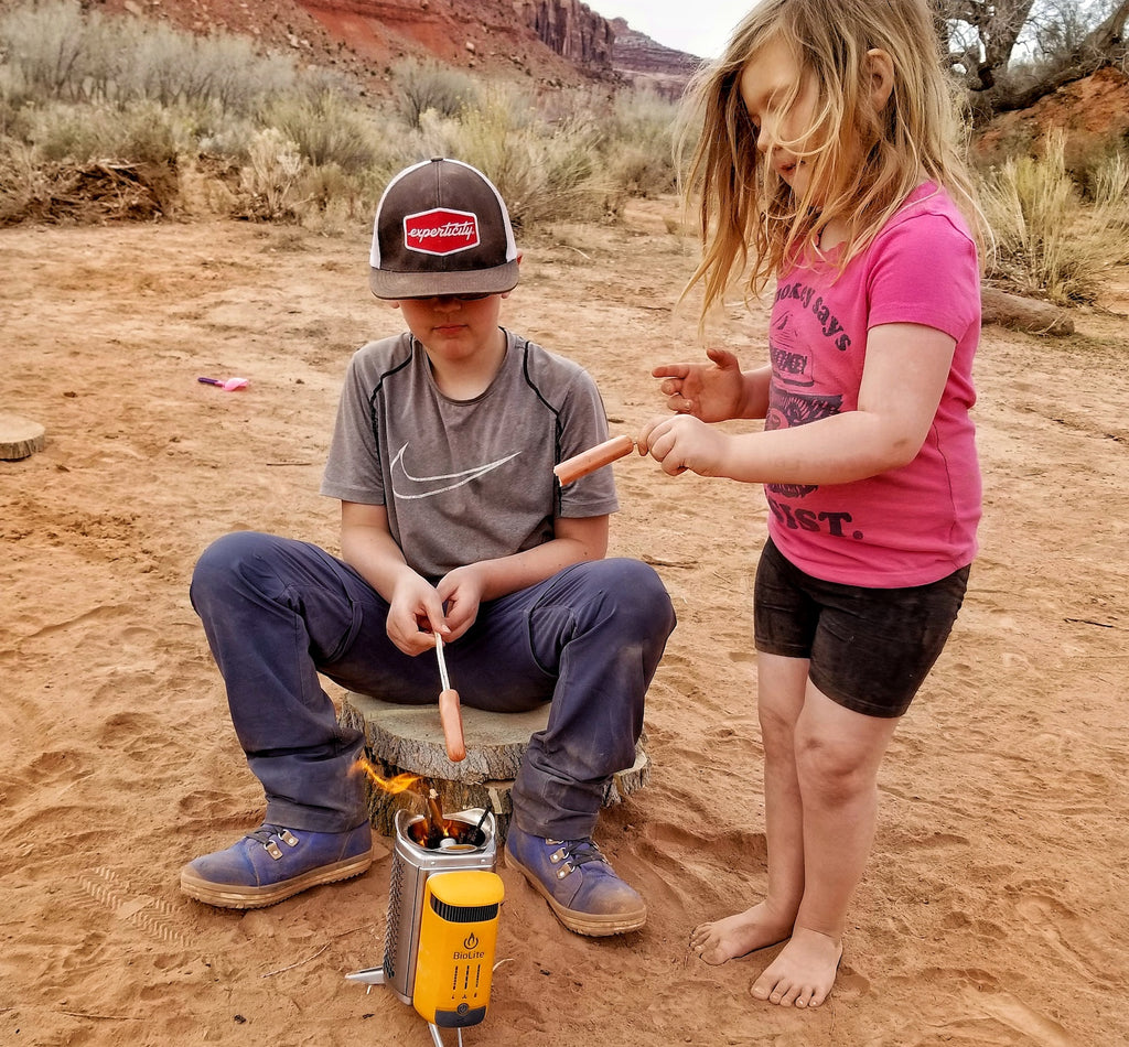Adventuring with kids in Utah