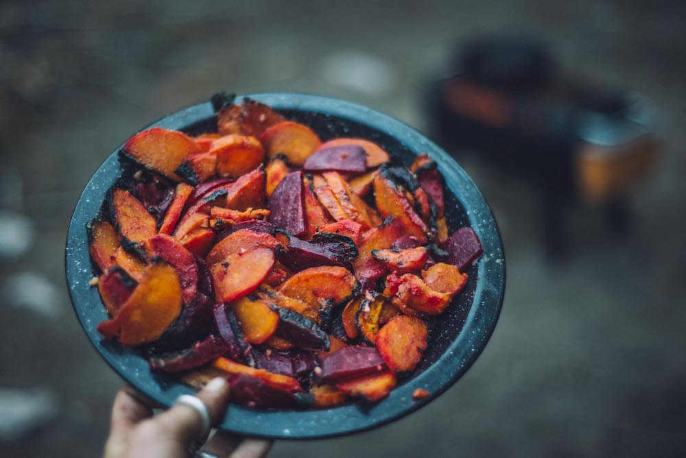 FirePit Cookbook: Sweets & Beets with Miso-Tahini Dressing