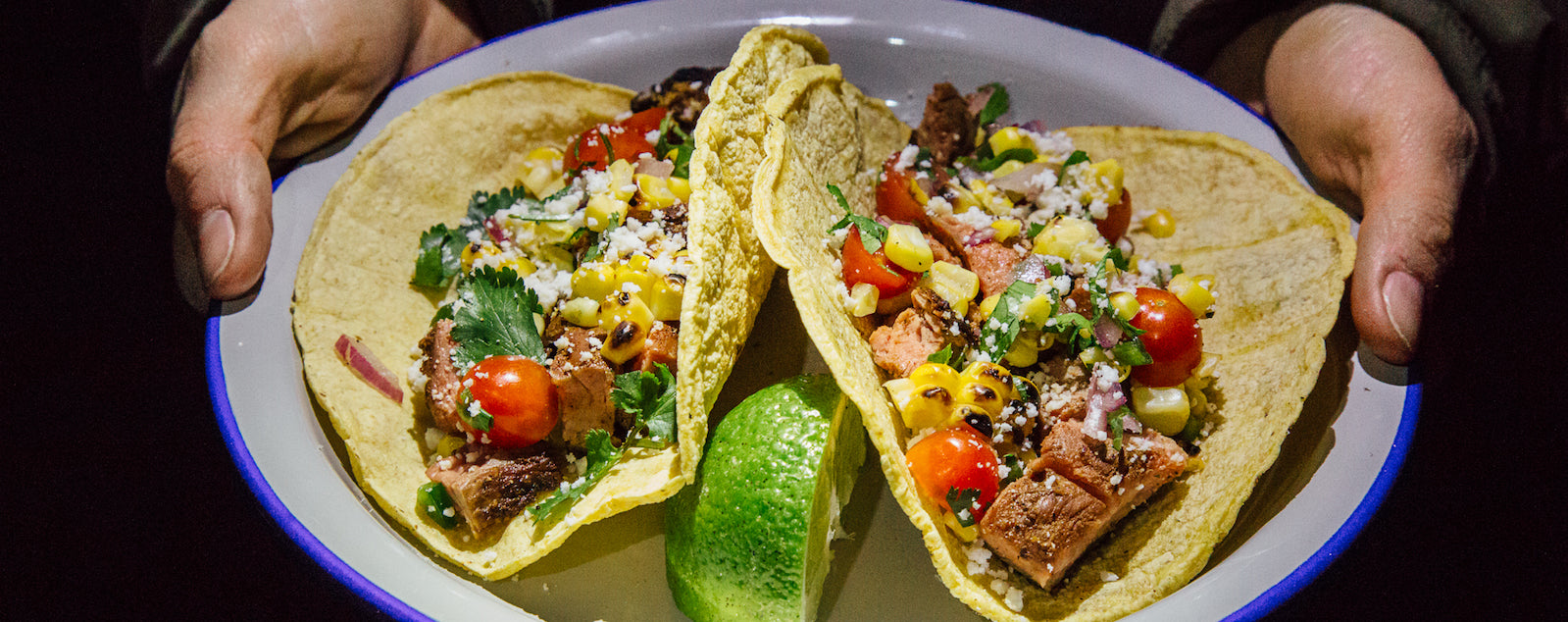 Grilling at Night: After Dark Steak Tacos