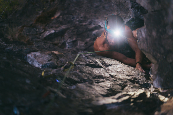 Climbing with BioLite HeadLamp