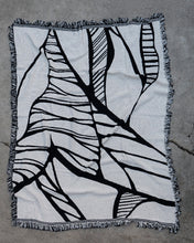 """Pathway Dream"" Jacquard Throw Blanket"