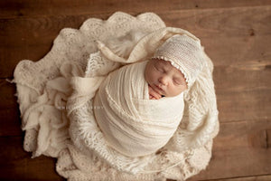Surprise WHOA length Cheesecloth Wrap 149-152 inches long - Newborn Wrap - Rustic Wraps  - SALE