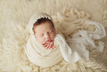 Load image into Gallery viewer, Surprise WHOA length Cheesecloth Wrap 149-152 inches long - Newborn Wrap - Rustic Wraps  - SALE