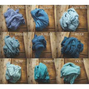 "the WRAP - Rustic Cheesecloth Wrap - 99-102""inches - newborn wrap - Pick 12"
