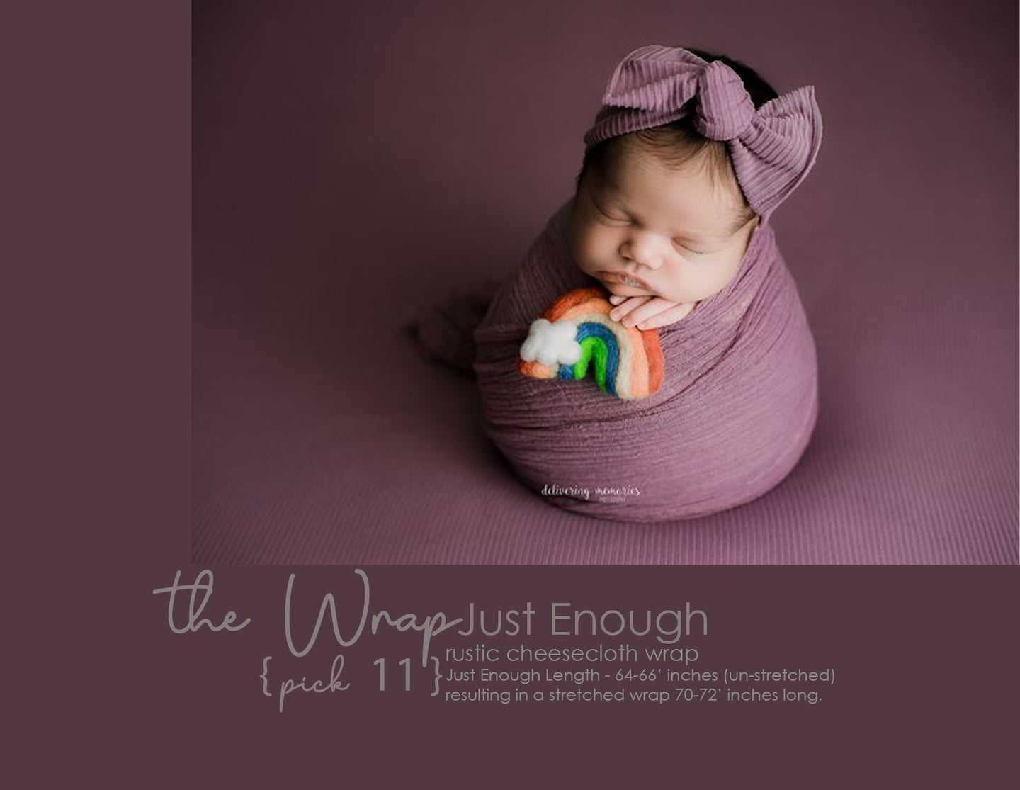 the WRAP - Cheesecloth Wrap - 64-66