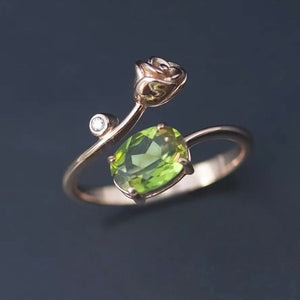 Romantic Zultanite Gemstone Color Changing Ring