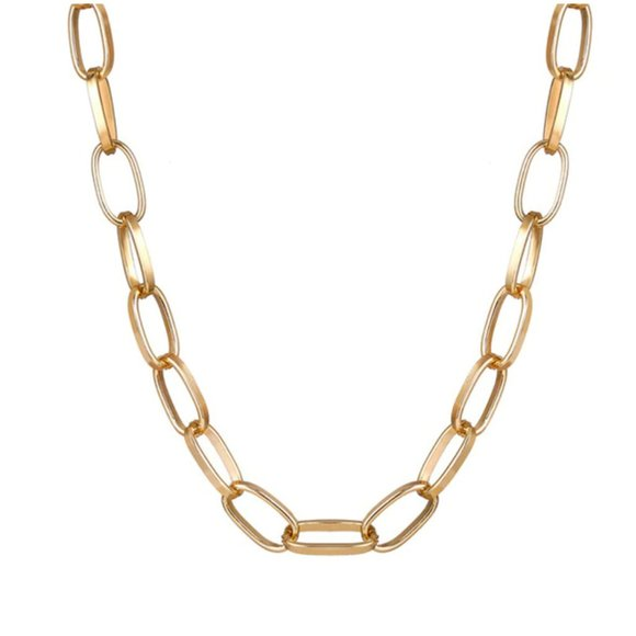 Gold-tone Chain Necklace