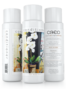"Conditioner for Fine Hair (12oz) featuring ""Orchid"""