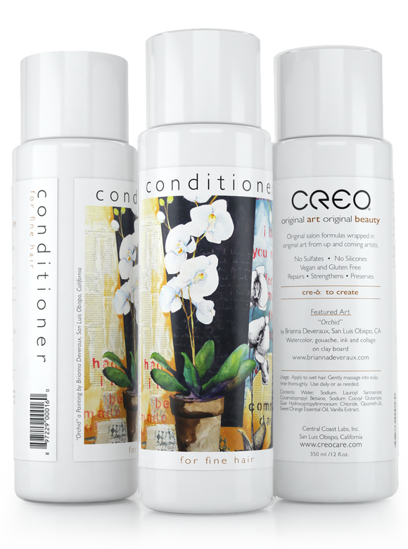 Conditioner for Fine Hair (12oz) featuring