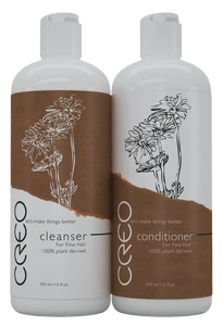 CREO Professional Cleanser and Conditioner for Dry/Damaged Hair