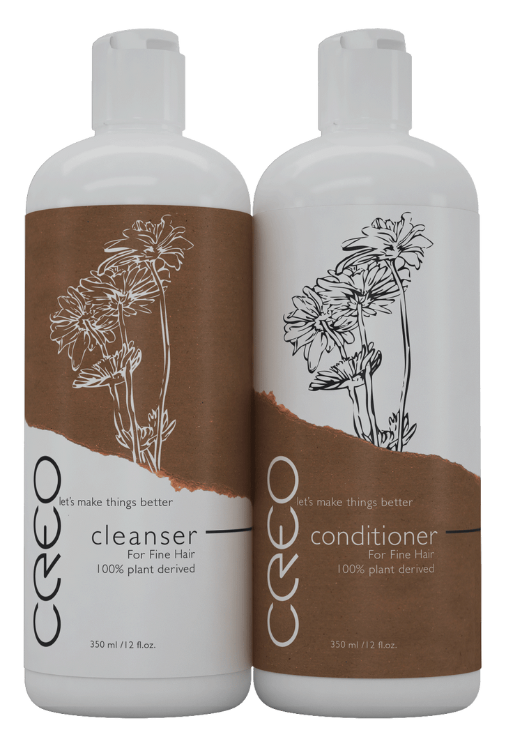 CREO Professional Cleanser and Conditioner for Fine Hair