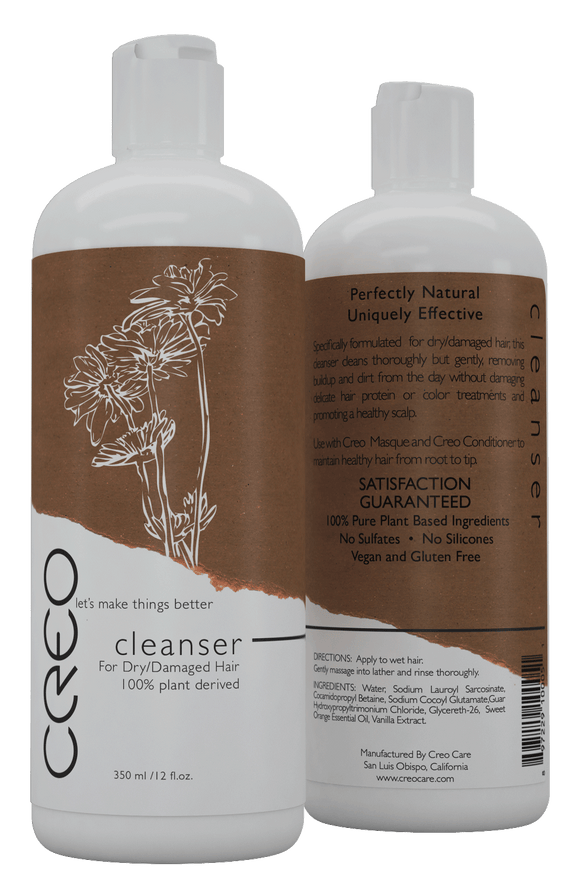 CREO Professional Cleanser for Dry/Damaged Hair