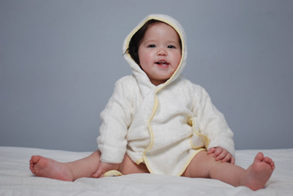 Bamboo Baby Hooded BathRobe Bamboo Baby - SHOO-FOO, the softness of bamboo