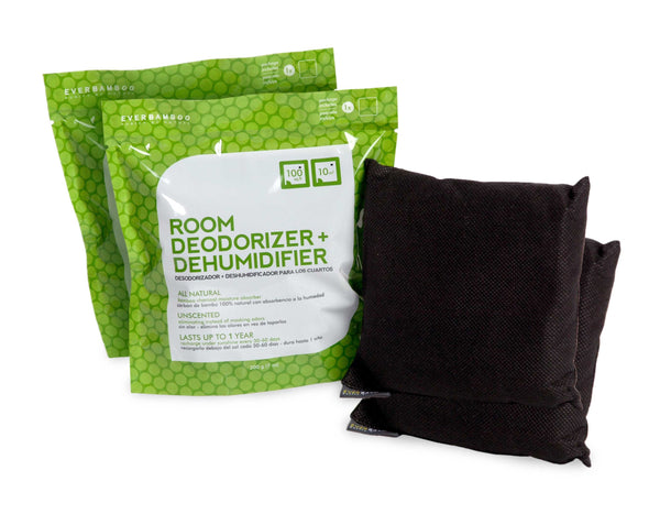 Bamboo Charcoal Room Deodorizer - 2 and 4 pack bamboo deodorizer 2 packs (+$7 shipping) - SHOO-FOO, the softness of bamboo