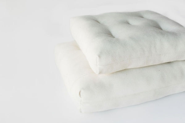 Pure Eco Wool Meditation Cushion Wool Cushion Small - SHOO-FOO, the softness of bamboo