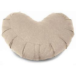 Kapok-filled Zafu Round zafu Crescent - SHOO-FOO, the softness of bamboo