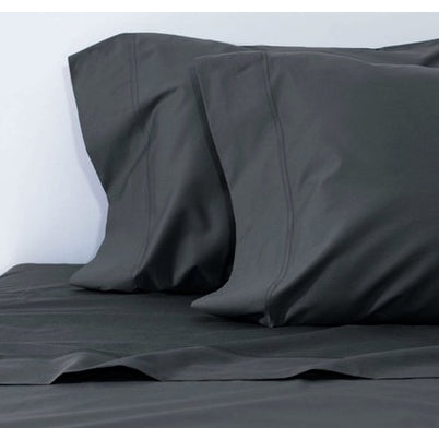 Bamboo Charcoal Pillow Cases 100% - Queen or King size Bamboo Sheets Set Queen / 1 pair - SHOO-FOO, the softness of bamboo