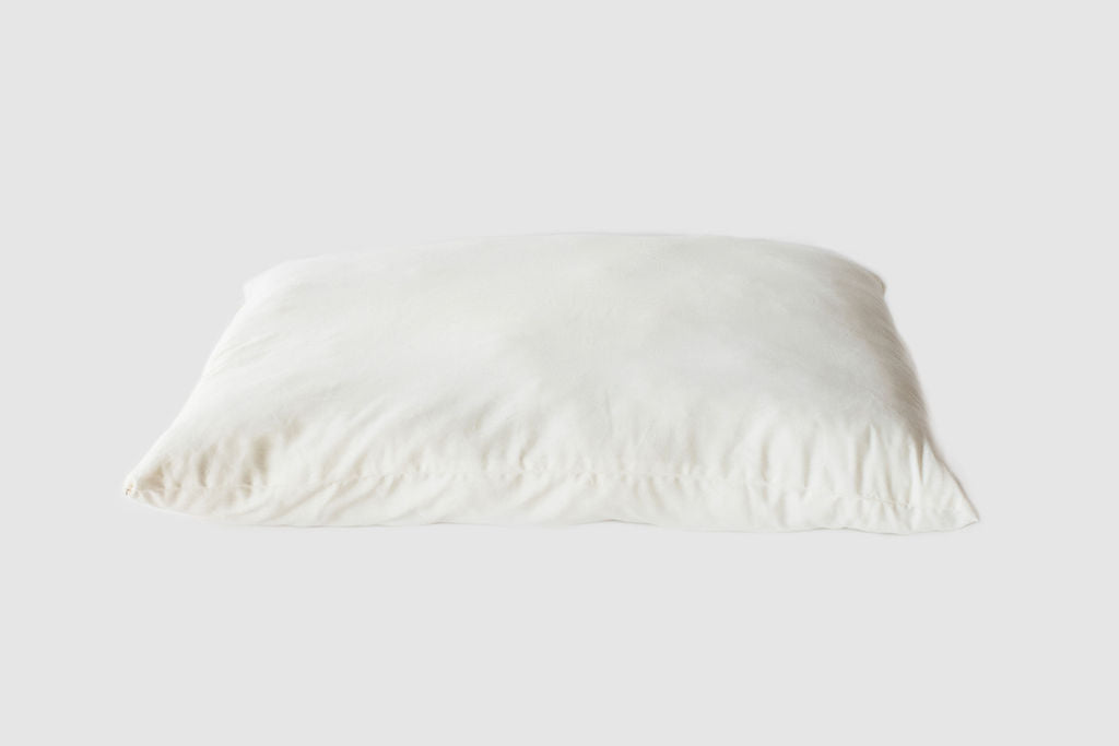"Natural Organic Shredded Lamb Wool Bed Pillows - ""Woolly Down"" Bed Pillows - SHOO-FOO, the softness of bamboo"