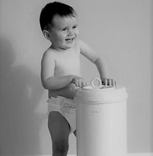 Bamboo Charcoal Compost or Diaper Pail Deodorizer - 2 or 4 Pack Bamboo Deodorizer 2 Pack - SHOO-FOO, the softness of bamboo