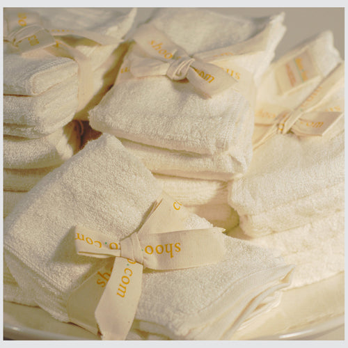 Bamboo Washcloths Bundle Bamboo Bath Linens 1 bundle - SHOO-FOO, the softness of bamboo