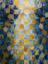 Tidal Perspectives art quilt by Linden Lancaster