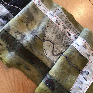 eco dyed scarf 3