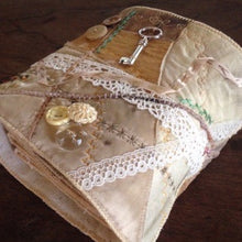 'hidden treasures' cloth book workshop - TBC