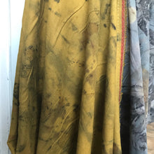 eco dyed cloak