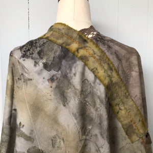 eco dyed wrap