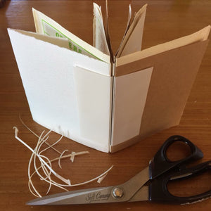 eco printing + bookbinding workshop - 28 oct 2018