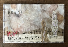 stitched collage - peace