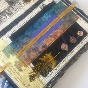 stitched art journal workshop - oct/nov 2019