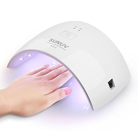 UV Nail Dryer Curing Lamp for Gel Based Polishes (Pink)