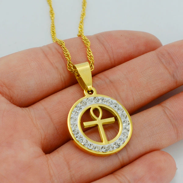 Ankh Cross (Key to life) Necklace for Woman