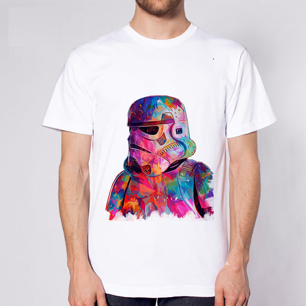 Star Wars Colorful Storm Trooper T-shirt