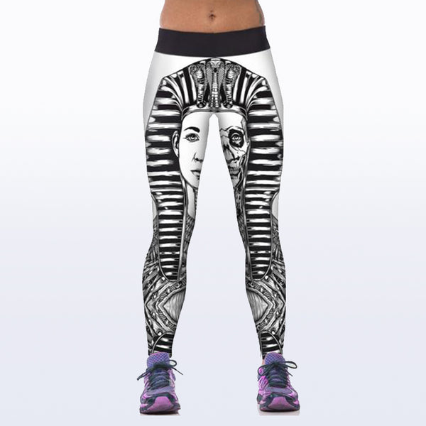 King High Spandex leggings Body building and Workout