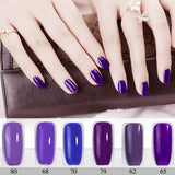 Gel Nail Polish, Long-lasting Soak-off LED UV