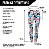 Dummy Doodle Leggings For Woman