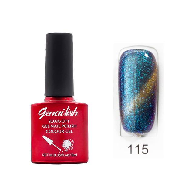 Genailish Magnetic Cat Eye Nail Polish Gel