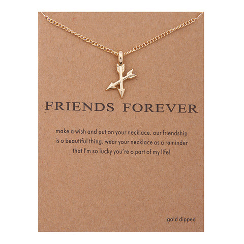 "Make A Wish Necklace: ""Friends Forever"""