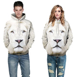 Lion Fashion 3D Hoodie Men/Women