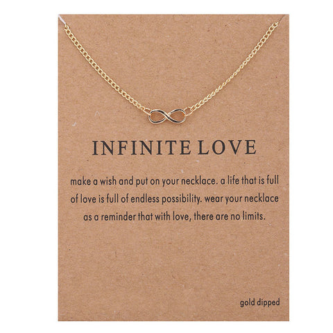 "Make A Wish Necklace: ""Infinite Love"""
