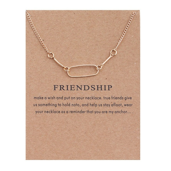 "Make A Wish Necklace: ""Friendship"""