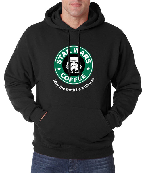 Star Wars Coffee Fashion Men Hoodie