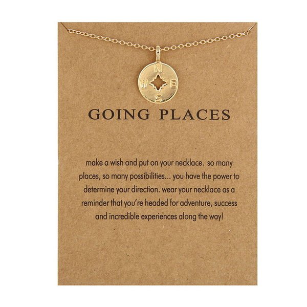 "Make A Wish Necklace: ""Going Places"""