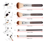 12Pcs Professional High Quality Makeup Brush Set